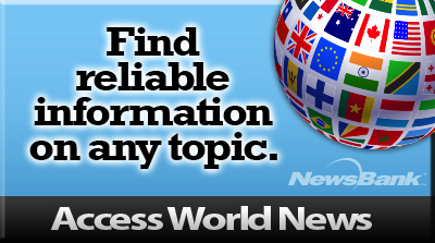 Image for Access World News database