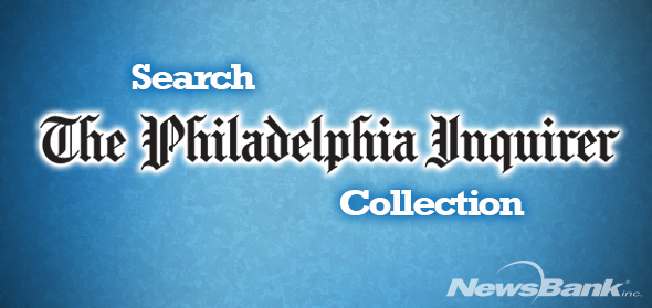 Image for The Philadelphia Inquirer collection database